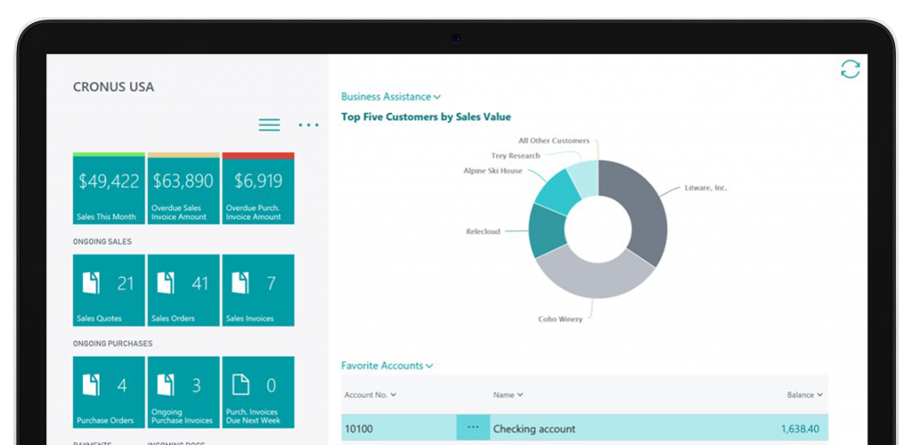dynamics 365 for accountancy