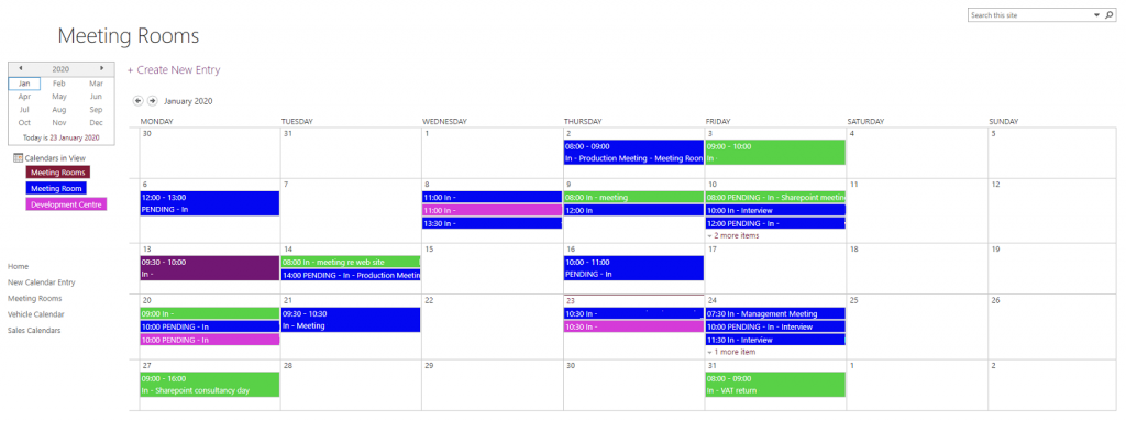centralised-sharepoint-calendar
