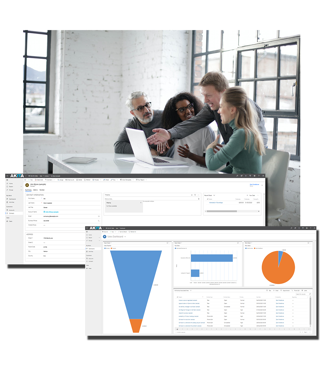 365 lite for sales crm